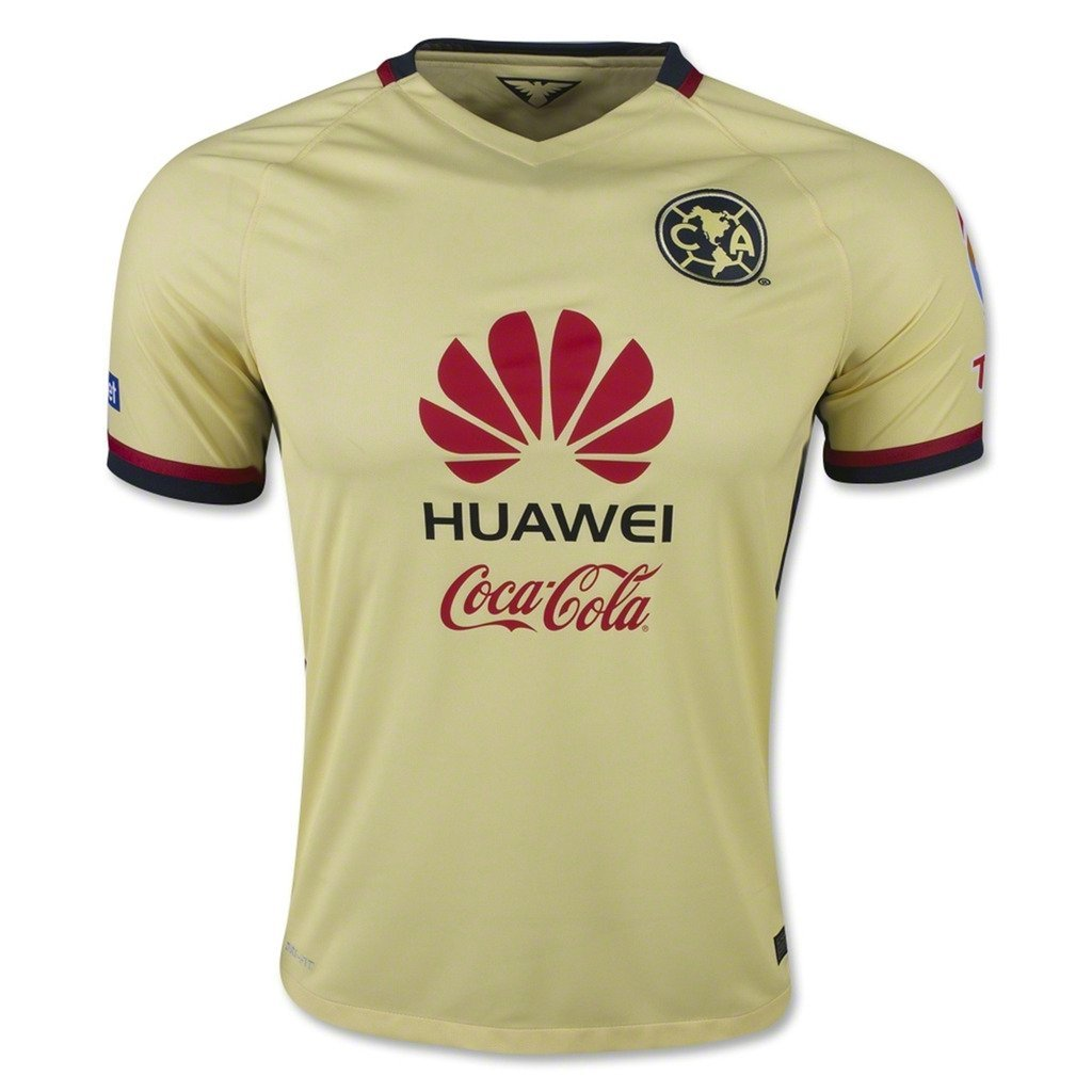 1d02f71e319 Amazon.com   100 Cuauhtemoc Blanco 2015 16 Club America Home Adult Soccer  Jersey (5601238570669)  Books