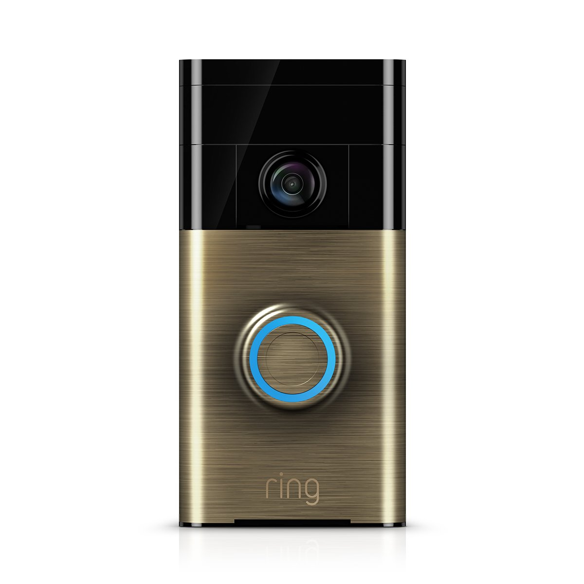 Ring Video Doorbell - Video Tü rklingel 720p HD Video, Gegensprechfunktion, Bewegungsmelder, WLAN, Venetian Bronze 8VR1S5-VEU0