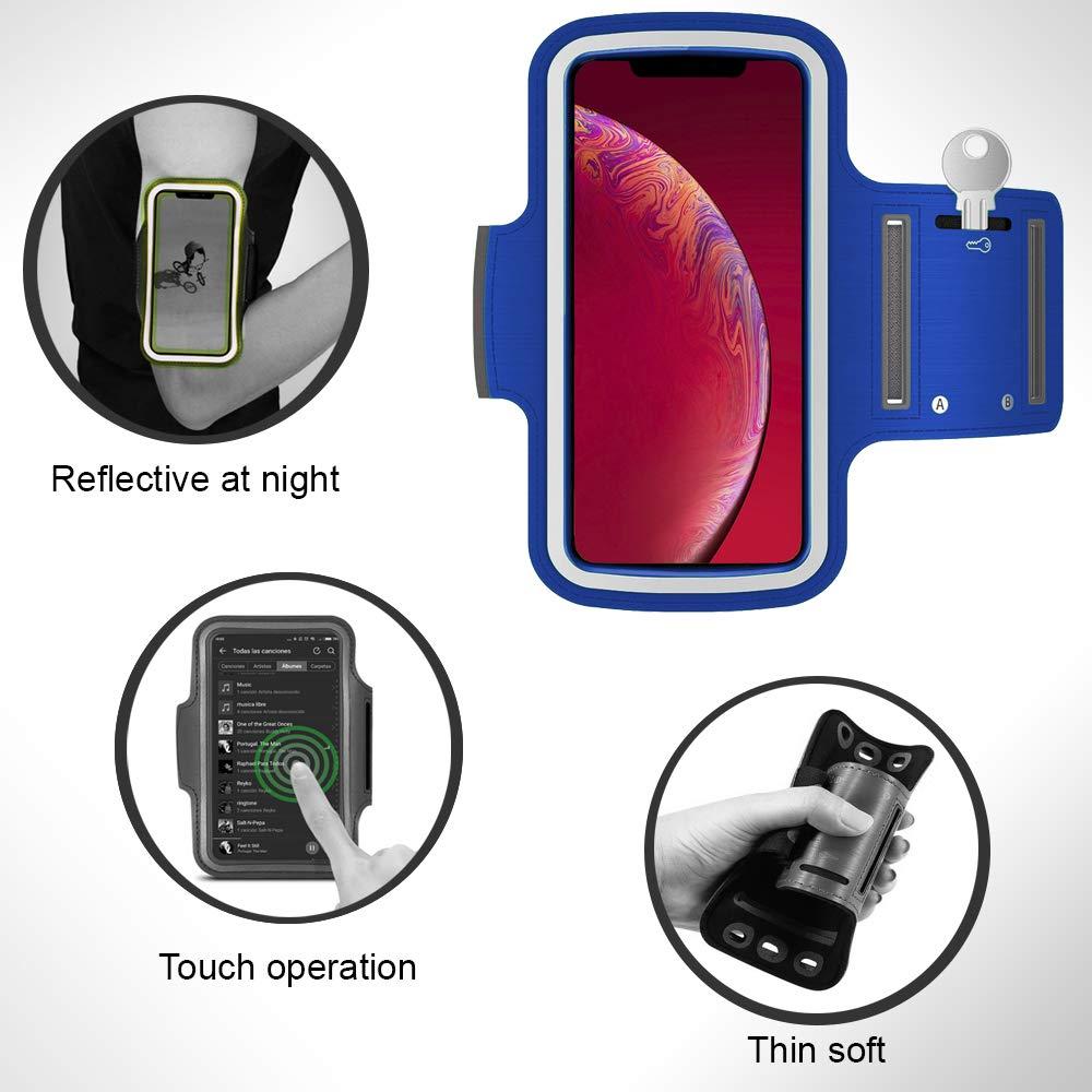 Samsung Galaxy S8 Plus armband running armband Samsung S8 Plus armband for running armband for Samsung S8 Plus sport armband Samsung S8 Plus holder Samsung S8 Plus armband exercise sport violet
