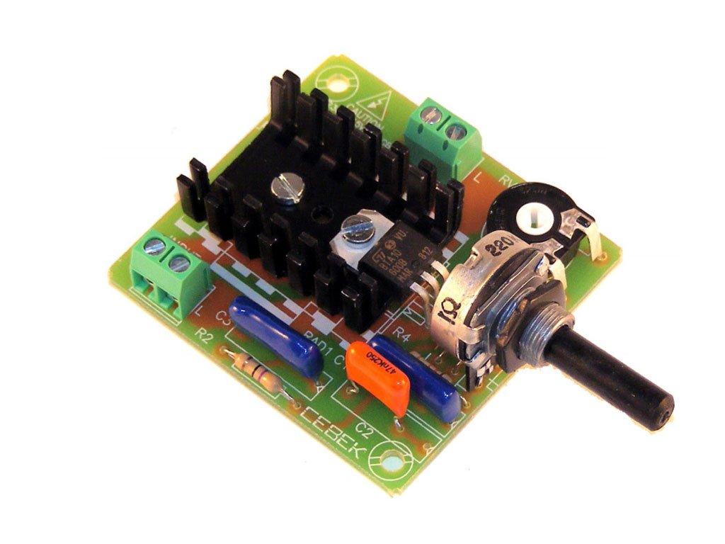 CEBEK Ce-R10-Regolatore di velocità per motori A corrente monofase C.A. 2Cv 1500W Hp, 230 V