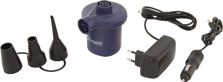 Bomba de aire el/éctrica con adaptadores de v/álvula Outwell Sky