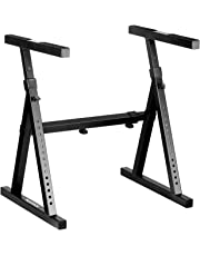 """Neewer Heavy Duty Z-Style Keyboard Stand with 23.2-35.4""""/59-90cm Adjustable Height and 24.6-40.9""""/62.6-104cm Adjustable Width"""