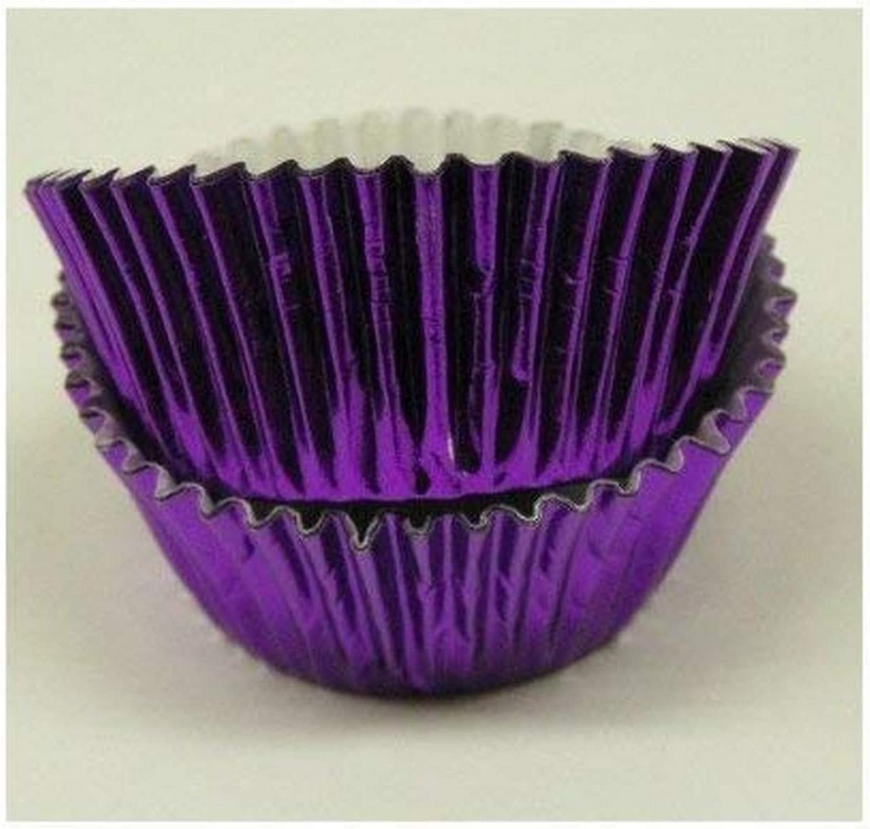 Hot Pink Glassine Cupcake Cases or Baking Cups 50 Pack