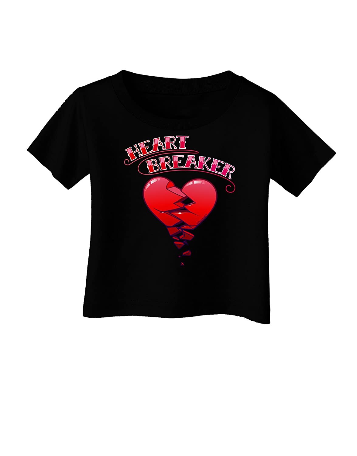 TooLoud Heart Breaker Cute Infant T-Shirt Dark