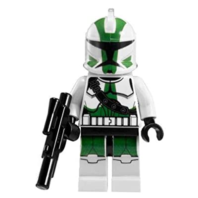 LEGO Star Wars The Clone Wars - Commander Gree Minifigure with Blaster Gun (9491): Toys & Games [5Bkhe1001678]
