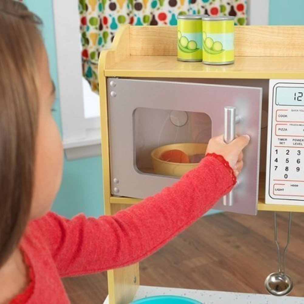 KidKraft Natural Toddler Kitchen by KidKraft (Image #3)
