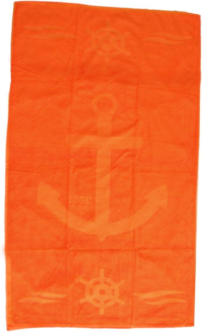 sailor arancione telo mare in spugna 90x170 cm 100/% cotone IRGE art