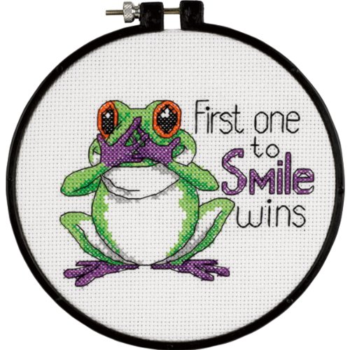 Dimensions Needlecrafts Counted Cross Stitch, First One to ()