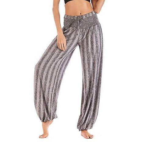 NSYJKPantaloni da yogaDeporte Fitness Yoga Pantalones Mujer ...