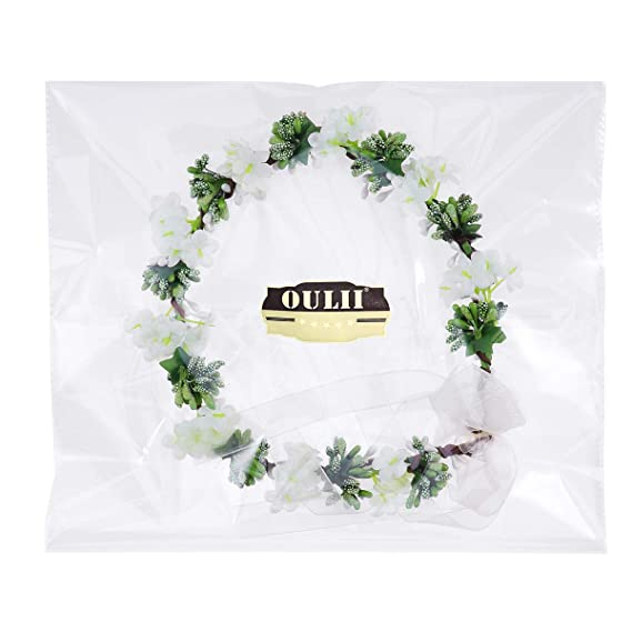 Merroyal Sunflower Crown Hair Wreath Bridal Headpiece Festivals Hair Band Photo Props