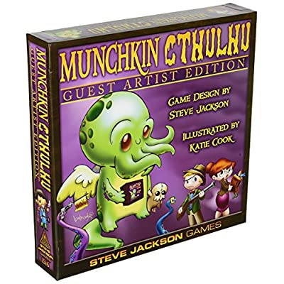 Munchkin Cthulhu Guest Artist Edition Card Game - Katie Cook: Toys & Games