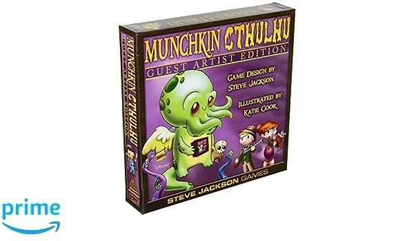Steve Jackson Games sjg01516 - Juego de Cartas Munchkin ...