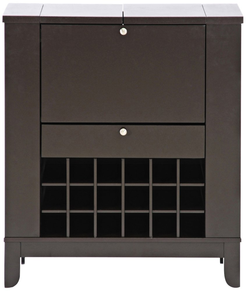 Charming Amazon.com: Baxton Studio Modesto Brown Modern Dry Bar And Wine Cabinet:  Kitchen U0026 Dining