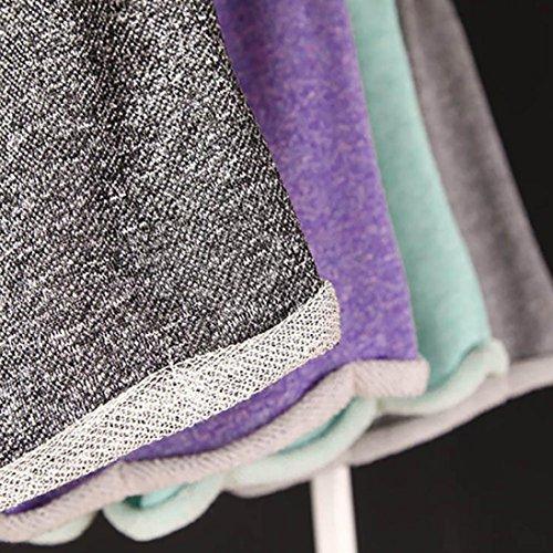 Shorts Colore Moda Donna Beach Donna VICGREY Ampio Elegante Shorts Casual Fitness Casa Estate Sexy Vacanze Blu Pantaloncini Coulisse Pantaloni Sportswear Pantaloncini Solido wg6wq5t