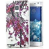 Zanasta Designs Schutzhülle Samsung Galaxy Note Edge Hülle Case Slim Cover mit Motiv Sakura