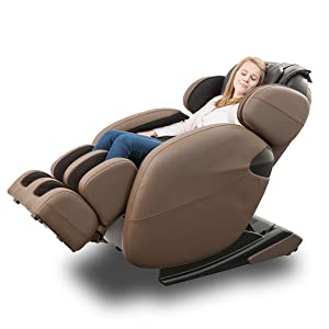 BRAND NEW Zero Gravity Full-Body Kahuna Massage Chair Recliner LM6800 with heating therapy
