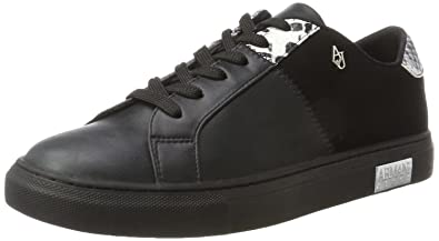 Armani Jeans Damen Bassa Sneaker  Amazon.de  Schuhe   Handtaschen 3469a1bb92