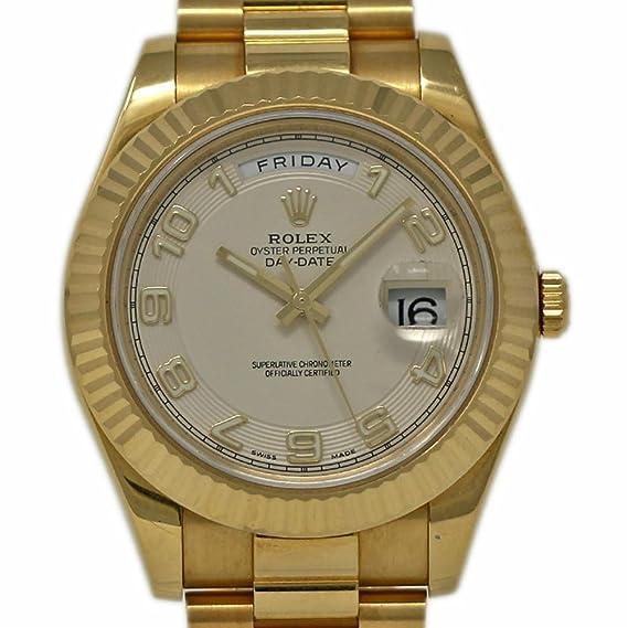Rolex 218238 - Reloj de pulsera automático para hombre (certificado de autenticidad)