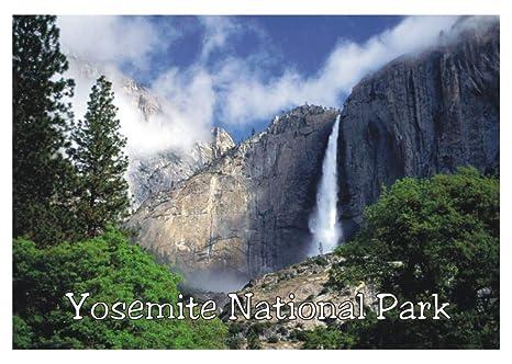 Amazon.com: Parque Nacional de Yosemite, Caída de Agua ...