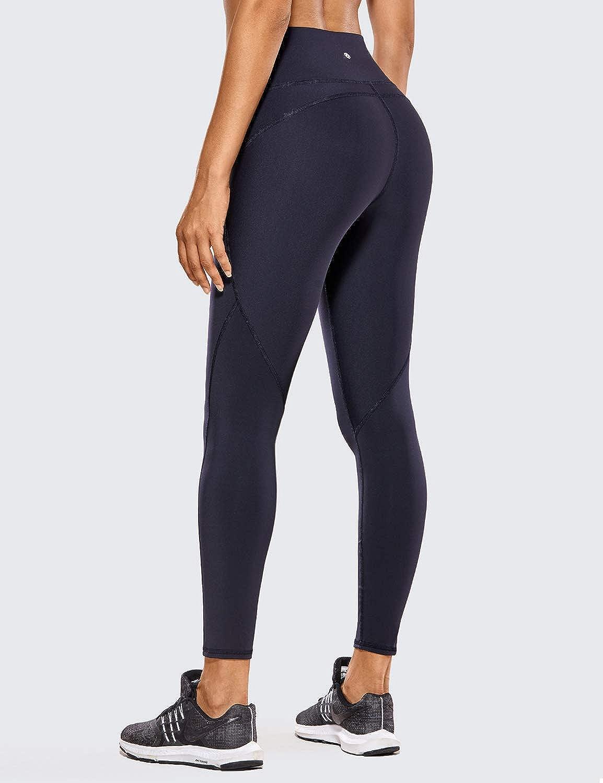 CRZ YOGA Femme Legging de Sport Fitness Running 7//8 Taille Haute avec Poche-63cm
