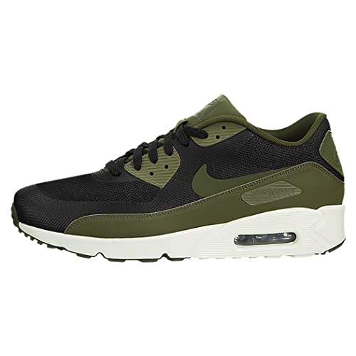 uk availability 0d0c1 26a4d Zapatillas Nike - Air Max 90 Ultra 2.0 Essential negro/verde/blanco talla:  40: Amazon.es: Zapatos y complementos