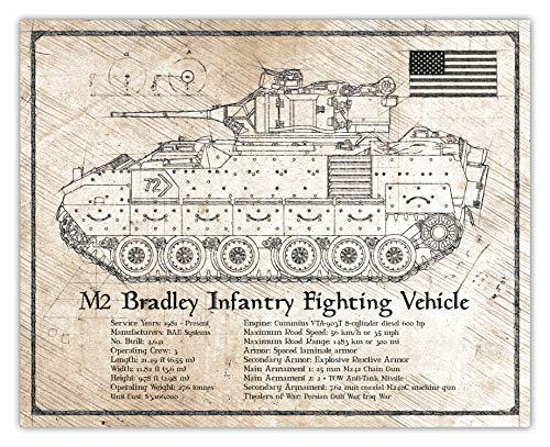 M2 Bradley Infantry Fighting Vehicle - Da Vinci Illustration for sale  Delivered anywhere in USA