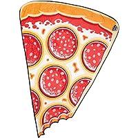BigMouth Inc. Pizza Slice Fuzzy Throw Blanket