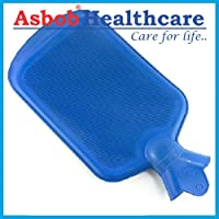 Asbob® Hot Water Bag/Bottle Non-Electrical for Pain Relief (Blue)