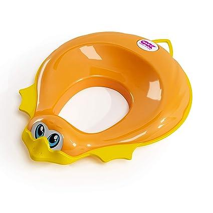 Riduttore Water Ok Baby.Okbaby Ducka Riduttore Per Bambini Con Bordo Antiscivolo Arancio
