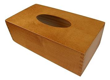 Inspir boîte distributeur porte mouchoirs fait main en bois vernis