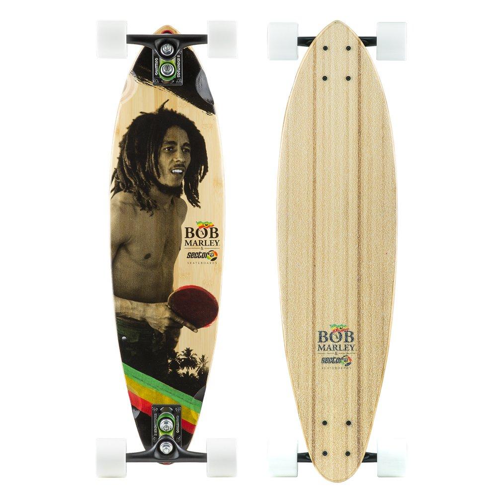 Sector 9 Cruiser Skateboard Bob Marley Small Axe Rasta 8.375'' x 32.5''