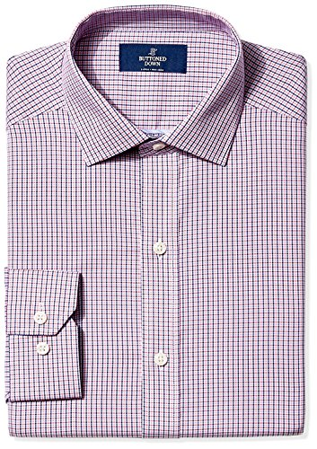 buttoned-down-mens-non-iron-fitted-spread-collar-dress-shirt-berry-red-navy-tatersol-155-neck-32-sle