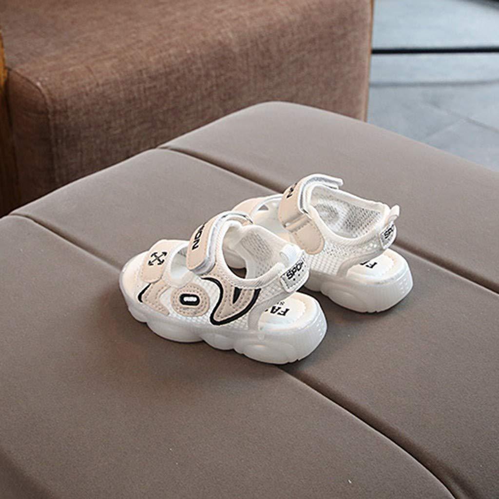 Zapatos led LED Zapatillas de Luces Transpirables Luces Reflectantes de Seguridad Actividades al Aire Libre por la Noche Playa,Running Sannysis Sandalias Zapatos Ni/ño Ni/ña Verano