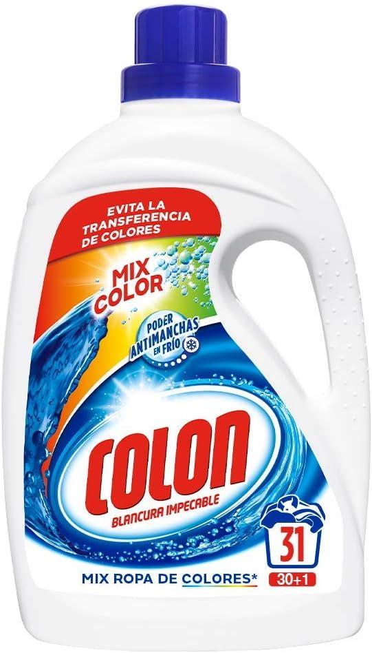 Colon Detergente de Ropa para Lavadora Líquido Mixcolor ...