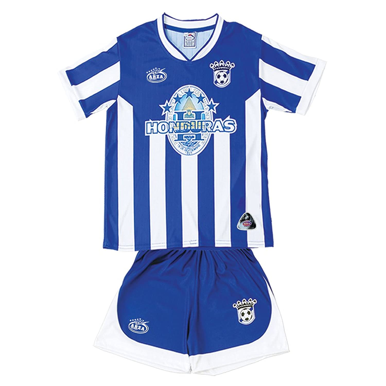 994381e07 Amazon.com  Honduras Arza Youth Soccer Uniform  Clothing