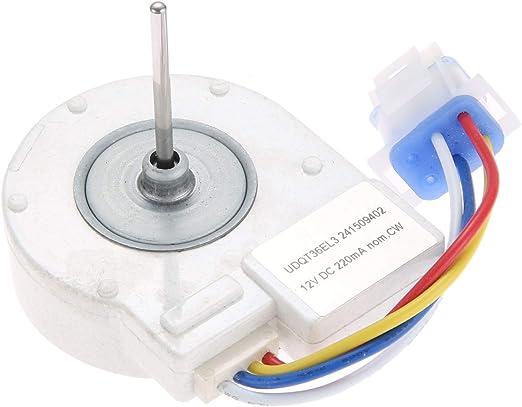 DRELD 241509402 Motor de Ventilador de evaporador de refrigerador ...