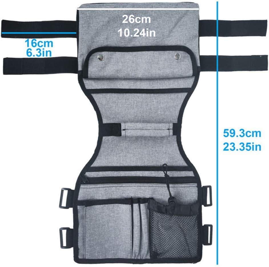 Bolsa lateral para silla de ruedas: adecuada para sillas de ruedas eléctricas, bolsas de enfermería para sillas de ruedas y bolsas para guardar sillas médicas