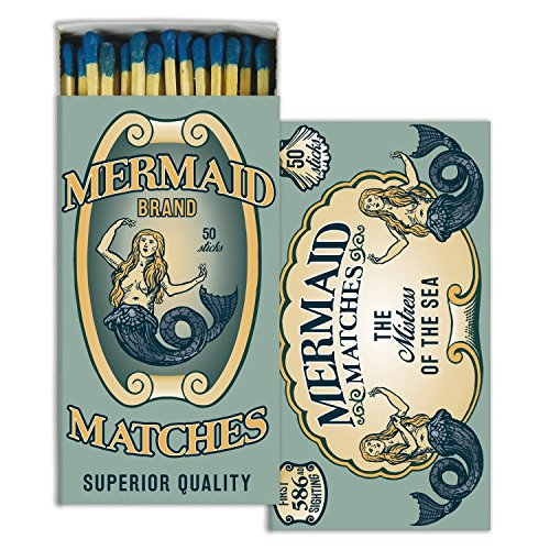 HomArt Mermaid Brand Match Box Wooden Matches