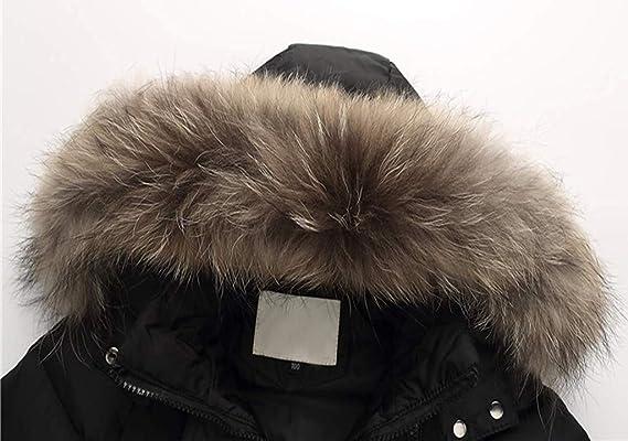 Tronet Kids Girls Winter Faux Fur Hooded Parka Down Coat Puffer Jacket Padded Overcoat Age:11-12 Years