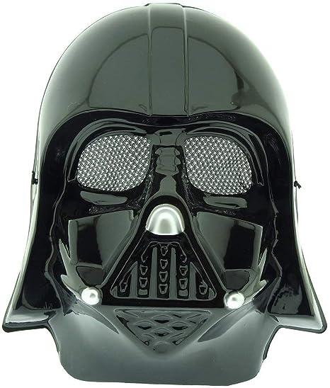 Máscara de disfraz - guerrero negro darth vader star wars ...