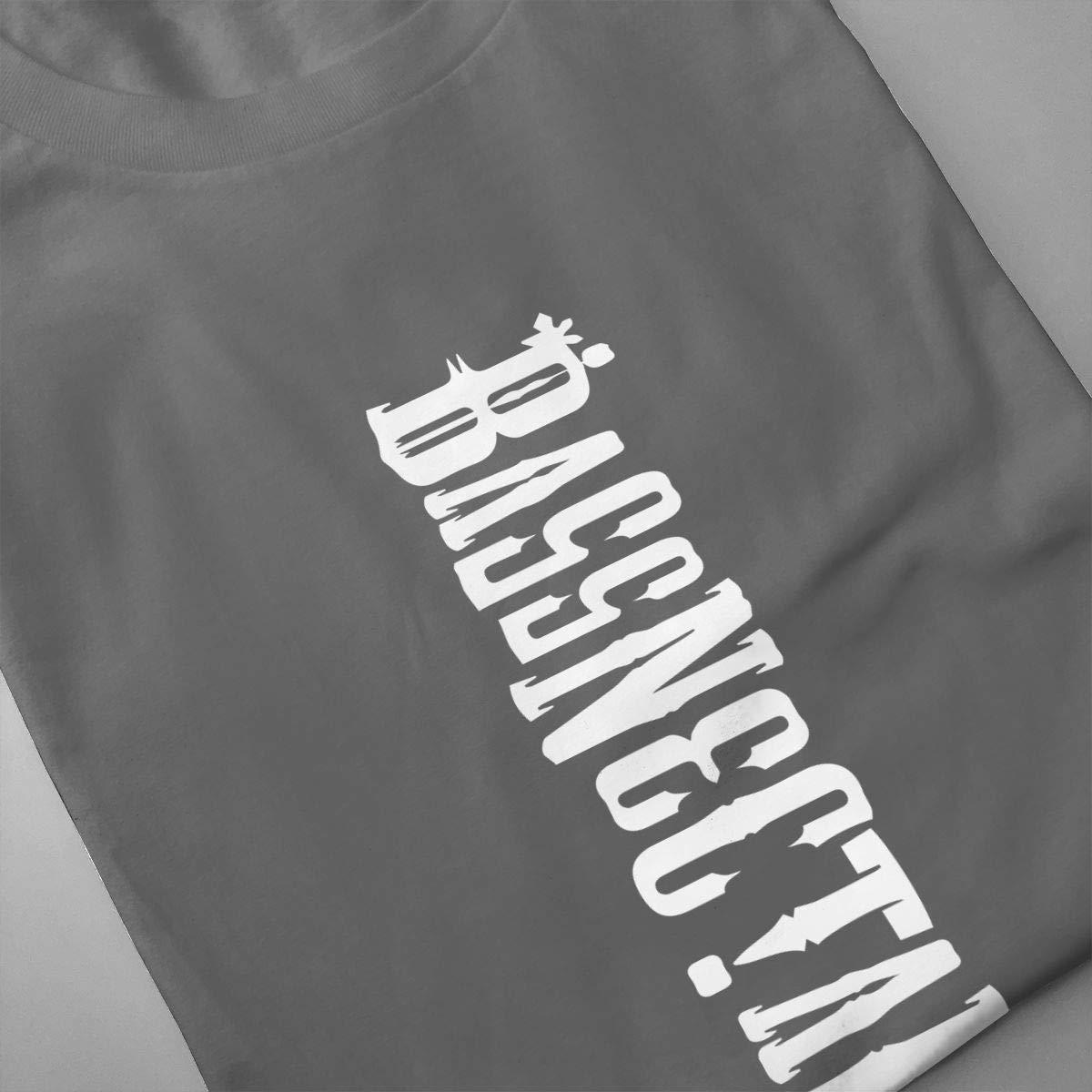 NEVER SKY Bassnectar 2 Adult Mens Essentials T-Shirt Cotton Crewneck