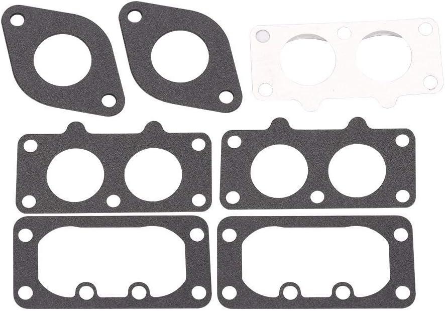 carburador Carb con sustituci/ón del cortac/ésped para juntas para Briggs /& Stratton 791230 699709 499804 Carburador para cortac/ésped