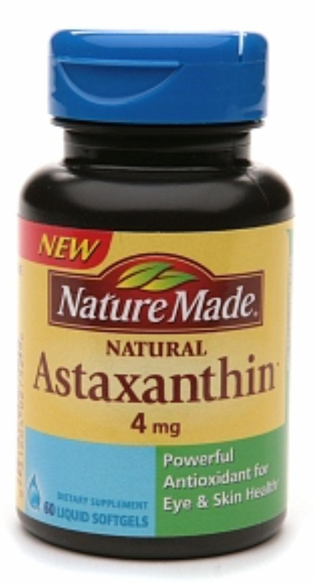 Nature Made Astaxanthin 4mg, Softgel 60 ea (Pack of 7)