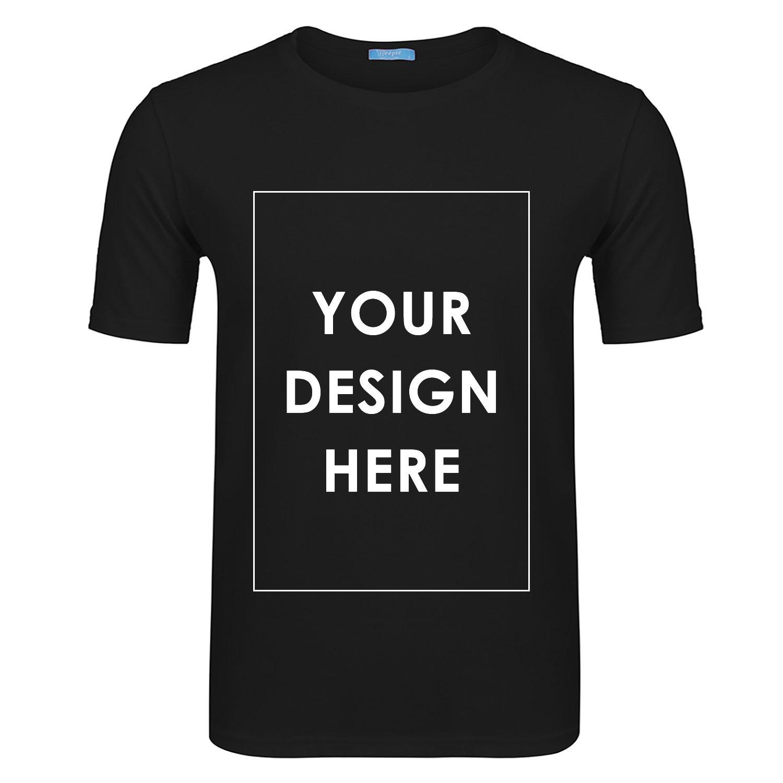 Amazon Kizaen Mens Custom T Shirt Tee Print Picture Letter