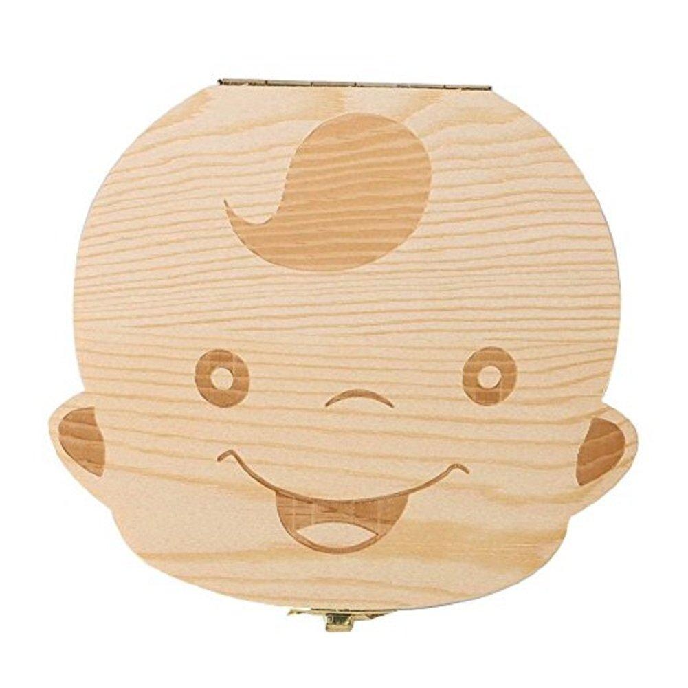 Jooayou - Caja para dientes de leche de los niños Girl multicolor