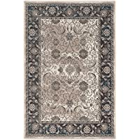 Linon Vintage Collection Isfahan Synthetic Rugs, 2 x 3, Gray