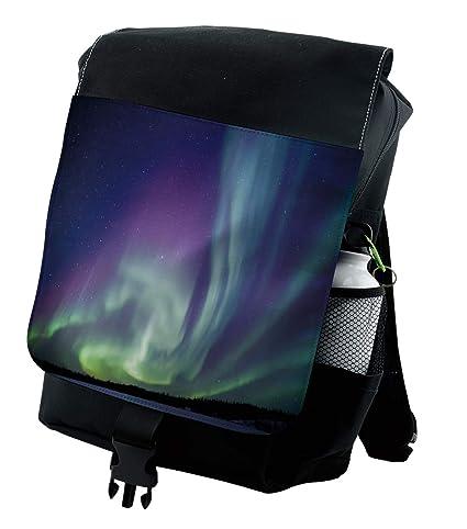 Amazon.com: Ambesonne Aurora Borealis Mochila, Solar Sky ...