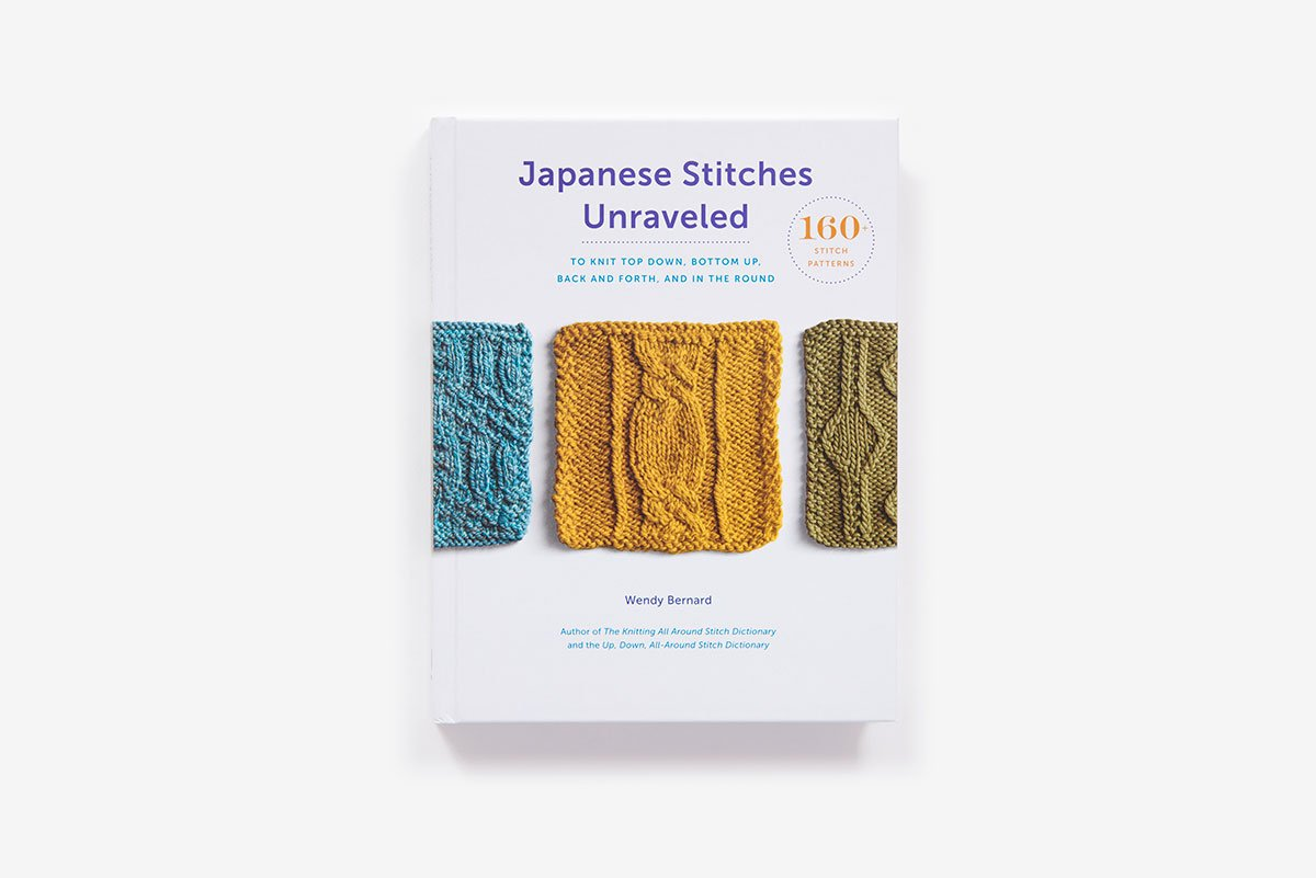 2d3a357e558f Japanese Stitches Unraveled  160+ Stitch Patterns to Knit Top Down ...