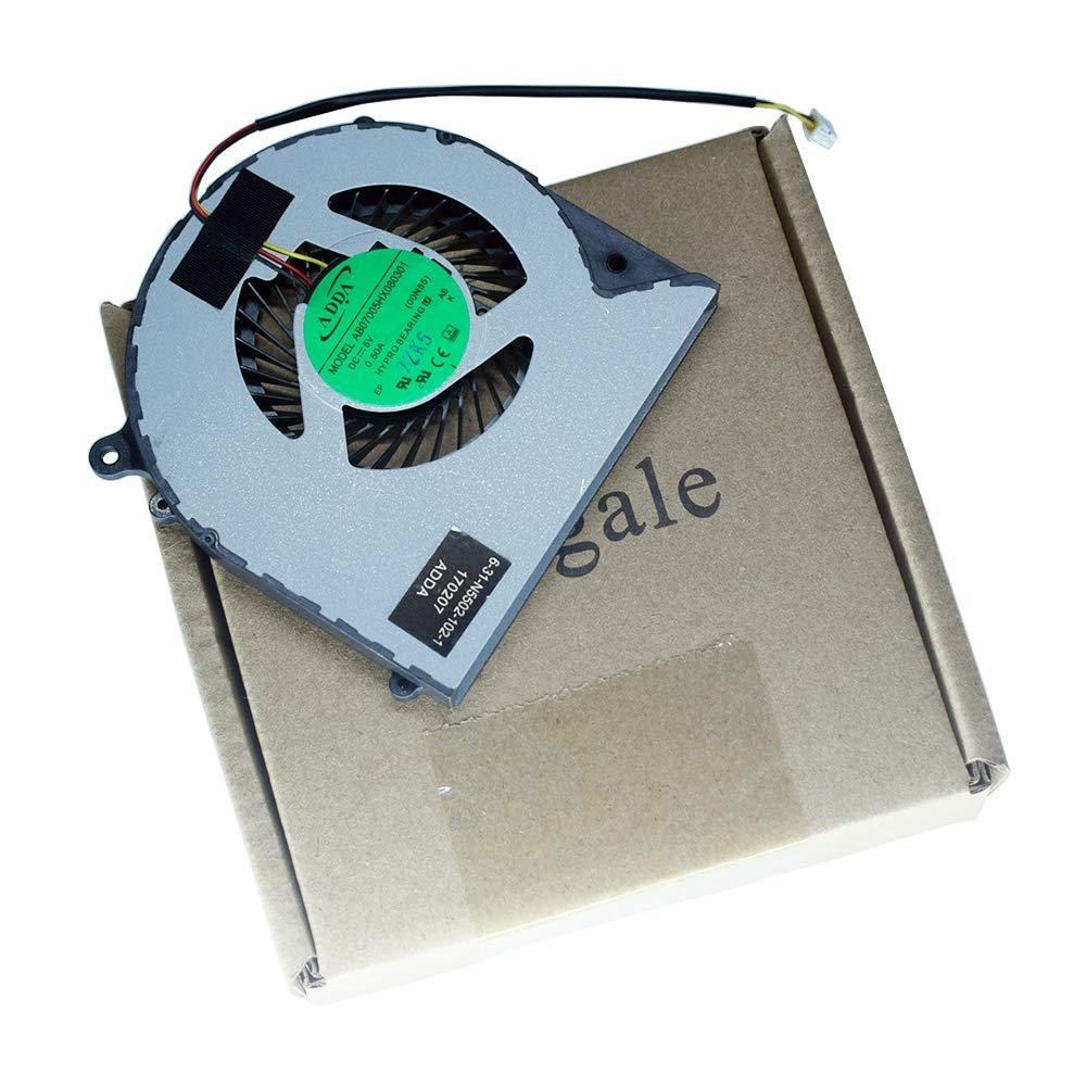 Cooler Dfs551205wq0t Fh22 Compaptible Para Clevo W350dw F57 M510d1 F57 F57-d5r D1 D1t D2 D3 D2r 6-31-n5502-102 Ab07005hx
