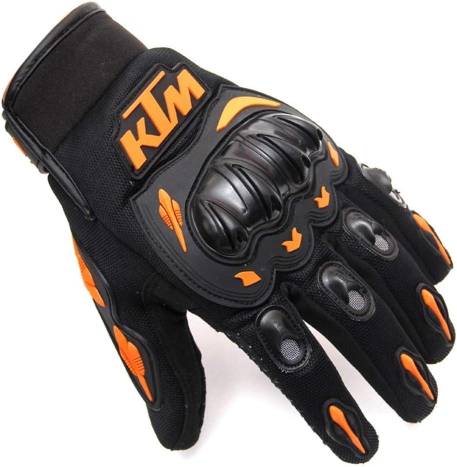 Guanti per Uomo//Donna KTM Orange XL Guanti,Guanti Moto Invernali,guanti portiere,Guanti Scooter MTB Full Finger Unisex